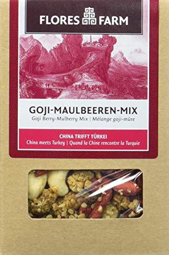 Flores Farm Goji-Maulbeeren-Mix, 3er Pack (3 x 100 g)