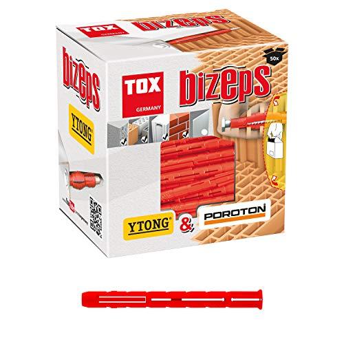 TOX Tassello ad espansione parallela Bizeps 8x90 mm, 50 pz, 00910015