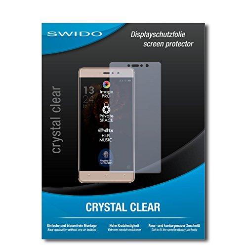 SWIDO Bildschirmschutz für Allview X3 Soul Style [4 Stück] Kristall-Klar, Hoher Festigkeitgrad, Schutz vor Öl, Staub & Kratzer/Schutzfolie, Bildschirmschutzfolie, Panzerglas Folie