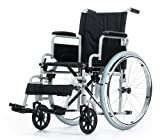 Rollstuhl Karibu Standardrollstuhl schmal Klappbar Fußstützen abnehmbar