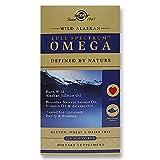 Solgar - Full Spectrum ™ Omega - Aceite de salmón salvaje de Alaska - 120 cápsulas blandas