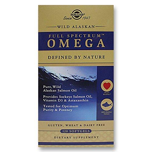 Solgar - Full Spectrum ™ Omega - Aceite de salmón salvaje de...