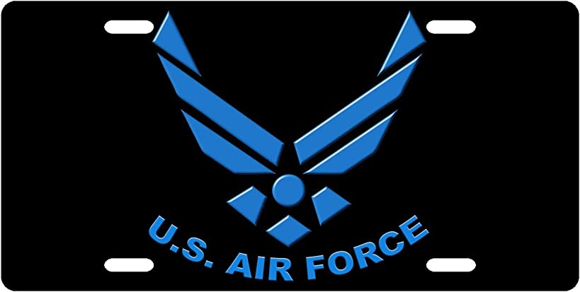 US Air Force Custom License Plate Novelty Tag from Redeye Laserworks