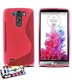 Coque Souple Ultra-Slim LG G3 VIGOR (LG G3 MINI) [Le S Premium] [Rose] de MUZZANO + STYLET et CHIFFON MUZZANO OFFERTS - La...