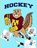 Hockey: Nhl National Hockey League Coloring Book Great Gift Adult Coloring Books For Women And Men