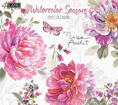Lang Watercolor Seasons 2022 Wall Calendar (22991002011)