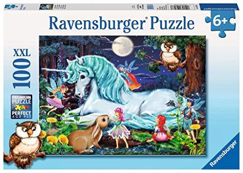 Ravensburger - 10793 - Puzzle XXL 100 Pièces - La Forêt Magique