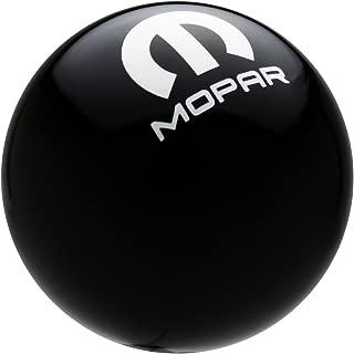 Speed Dawg M501MPR-CM-W Shift Knob (Black/White, Mopar Logo)