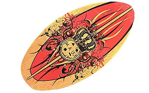 Tabla de Bodyboard,Skimboard Tablero de Surf de Madera Sandboard para Adultos y niños Entrenamiento y demostración Playa y Surf Superficial 90cm
