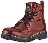 Dockers by Gerli Unisex-Kinder 43CU734 Combat Boots, (Rot/Multi 707), 34 EU