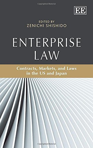 Enterprise Law: Contracts, Markets, and Laws in the US and Japan by Zenichi Shishido (2014-10-29)