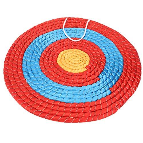 Pwshymi Blanco de Tiro con Arco Blanco de Tiro con Arco de Paja Blanco de Tiro con Arco de Hierba Tradicional para práctica de Tiro