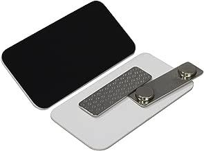 Name Tag/Badge Blanks - 10 Pack - Black 1-1/2