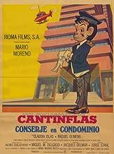 Conserje en condominio Movie Poster (27 x 40 Inches - 69cm x 102cm) (1974) Spanish -