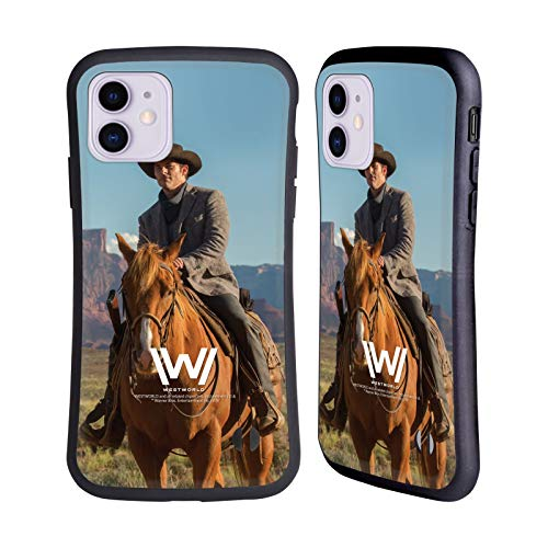 Head Case Designs Offizielle Westworld Teddy Flood Darsteller Hybride Handyhülle Hülle Huelle kompatibel mit Apple iPhone 11