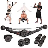 OYO Personal Gym (オーヨ パーソナルジム) ホームジム フィットネスマシン - 筋トレ チューブ、腹筋台 など 筋力トレーニング器具 の代わりとして 【新しい改善版 負荷11.3kgで気軽にできる 筋トレ器具】