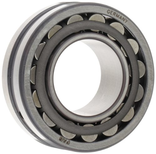 FAG 22210E1K-C3 Spherical Roller Bearing, Tapered Bore, Steel Cage, C3 Clearance, Metric, 50mm ID, 90mm OD, 23mm Width