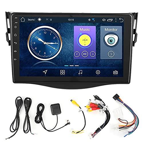 Reproductor Multimedia para AutomóVil, 9 Pulgadas 2Din, Audio EstéReo para AutomóVil, NavegacióN Por Radio, Reproductor de MúSica Bluetooth, Reproductor Multimedia Gps Mp5 para Android 9.1, Apto para