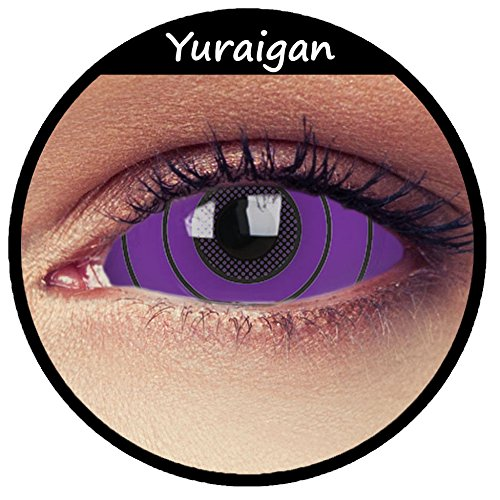 Violette Sclera Kontaktlinsen 22mm Linsen 22mm purple full Sclera contacts Modell: