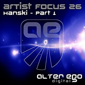 Artist Focus 26 - Pt. 1