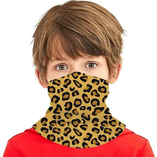 Unisex Cheetah Animal Pattern Fliesen Afrika Face Cover Mundabdeckung Schal wiederverwendbar Atmungsaktiv Mund-Nasen Bedeckung Halstuch Schals Herren Damen