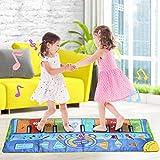 Settoo 130 * 48 cm Piano Tappetino Tappetino da Danza Tappeto Giocattolo, Musica Giocattolo, stuoia per Pianoforte, Regalo Giocattolo per Bambini