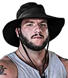 GearTOP UPF 50+ Boonie Hats for Men Wide Brim for UV & Sun Coverage for Fishing Hiking Hunting Mens...