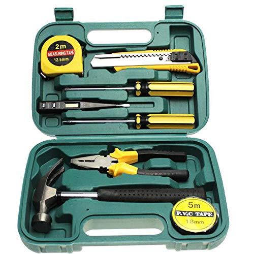 RedKids Juego de herramientas de 8 piezas, maletín de herramientas, cajón de cocina, caja de herramientas, maletín de almacenamiento, maletín de herramientas, funda para documentos