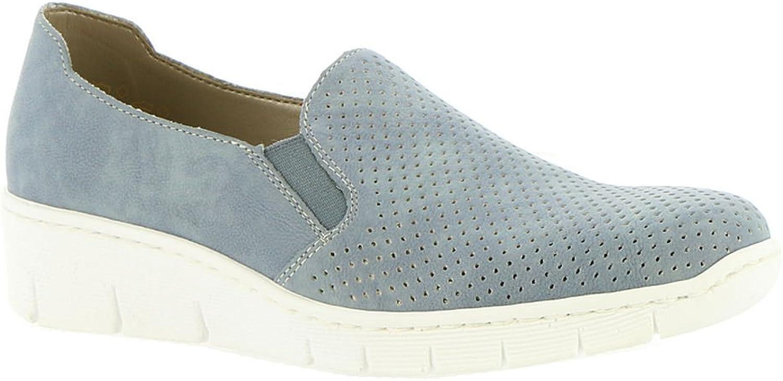 Rieker Womens Doris A5 Low Top Slip On Fashion Sneakers