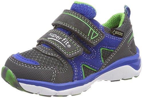 Superfit Jungen SPORT5 Sneaker, Grau (Stone Kombi), 34 EU