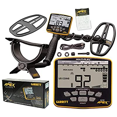 Garrett Ace Apex Metal Detector with Multi Frequency Technology