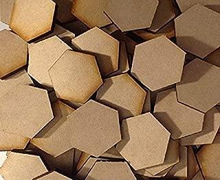 Memoir 44 Hex Tile Blanks 20 Pack Laser Cut MDF FAST SHIPPING