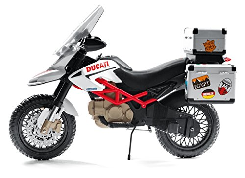 Elektrisches Enduro Ducati Motorrad für Kinder Peg Perego Bild 4*