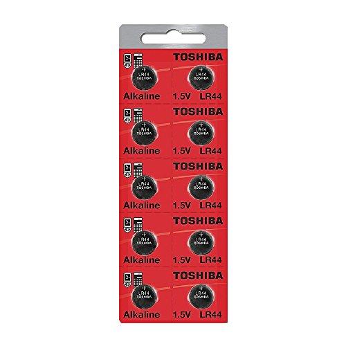 Toshiba LR44 Battery 3V Battery 1.5V Alkaline (100 Batteries)
