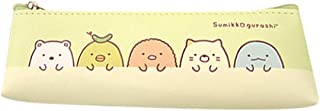 Sumikko Gurashi-Simple Mini-Triangle Pen Holder, Cute Design Made in Korea Pencil Bag (Light Green)