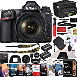 Nikon D780 Full Frame 4K FX DSLR Camera + 24-120mm VR Lens Kit Bundle with Photo and Video Professional Editing Software Suite, Deco Gear Camera Bag, 2X Rechargeable Battery, 64GB Card & Accessories