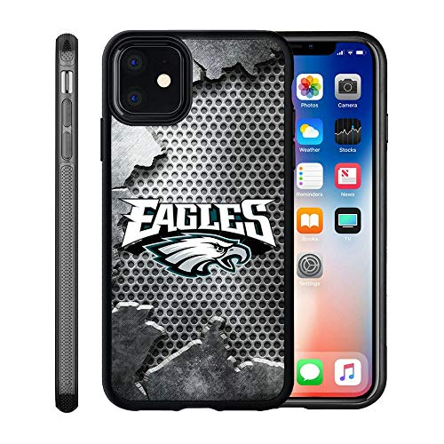 Eagles iPhone 11 Case, Eagles iPhone 11 Case Cover Personalized Slim Fit Shockproof Anti-Scratch Shell for iPhone 11 6.1 Inches (2019 Release)