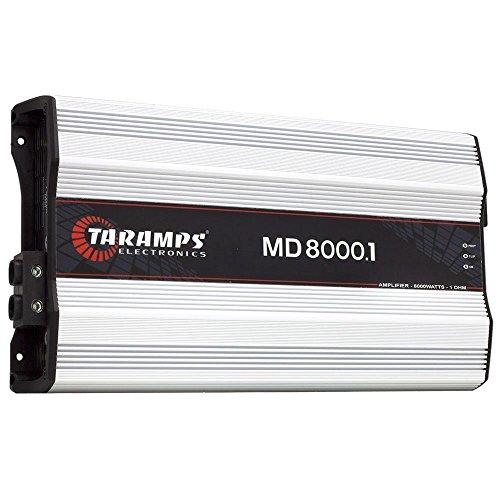 Módulo Taramps MD 8000.1 1 ohms 8000 W RMS Amplificador Som Automotivo
