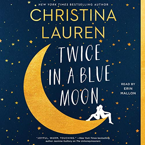 Twice in a Blue Moon audiobook cover art