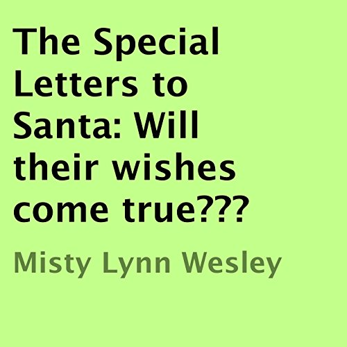 The Special Letters to Santa audiobook cover art