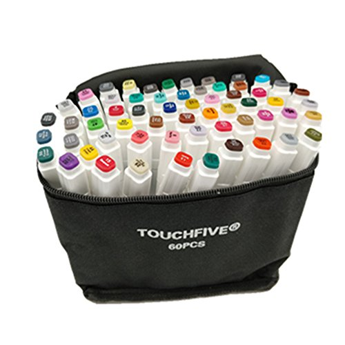 TOUCHFIVE Marker 60er Set neue Generation