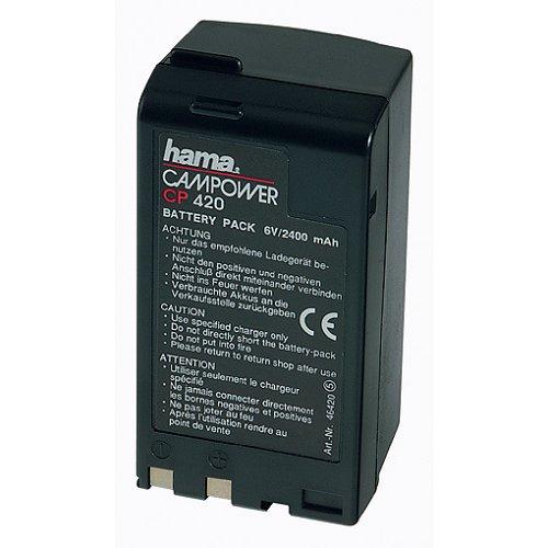 Hama Nicad batería para cámara de vídeo Canon 6 V 2,4 mA