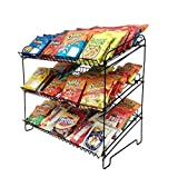 Wire Rack For Countertop Use With 3 Open Shelves