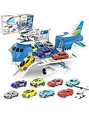 BoomCaCa Aviones de Juguete, 9 en 1 Coches de Juguetes Niños 2 3 4 5 6 Años, Regalos Juguetes para Niño Niña