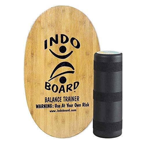 Indo Board® Original · Eco Bamboo · Tabla de Equilibrio · simulador de Surf · Fitness Trainer