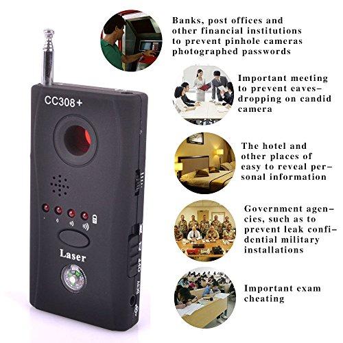 Detector de movimiento, antiespías, señal por radiofrecuencia,...