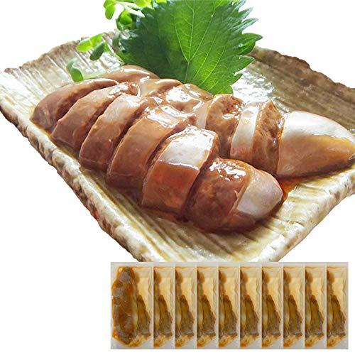 母の日 ギフト イカ屋荘三郎 珍味 いかわたルイベ 50g ×10袋 イカわたの塩辛 醤油味 国産 お取り寄せ 石川産 お取り寄せ グルメ ヤマキ食品