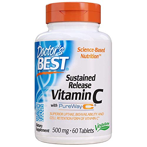 Doctor's Best PureWay-C Sustained Release Vit.C (60 Vegetarian Tablets)