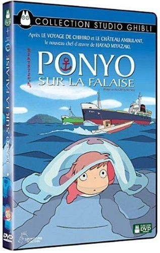 DVD Ponyo sur la Falaise