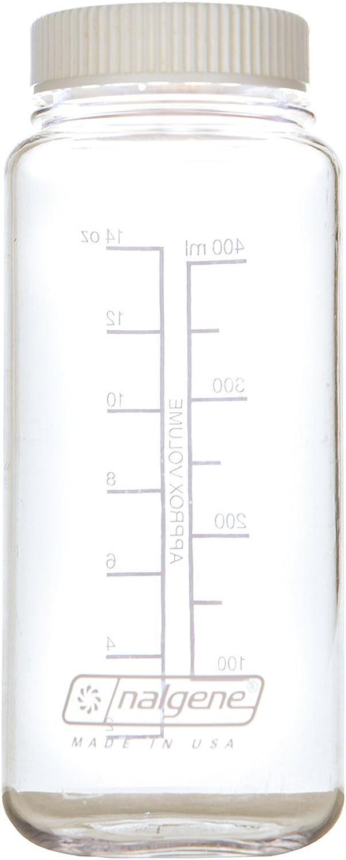 Nalgene (Nalgene) wide-mouth 0.5L flat cap clear × white 91256